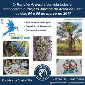 Folder Evento Rancho Arararinha